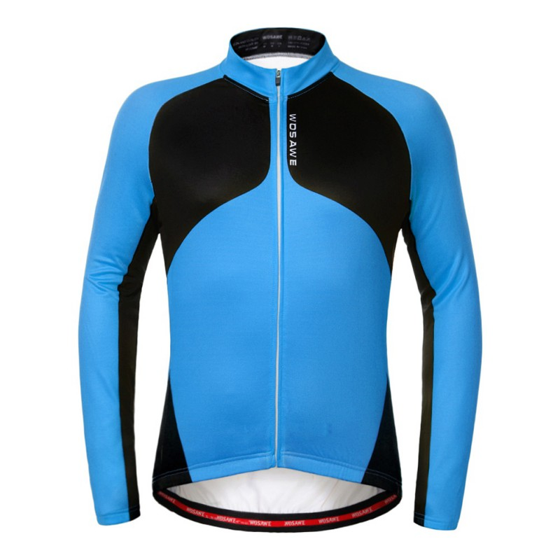 WOSAWE Cross - border Supply Autumn&Winter Fleeing Riding Suits Mountain Bike Ride running Long - sleeved Jacket Outdoor