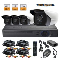 Security CCTV 1 0MP 720P Outdoor Camera Video System 4CH AHD Realtime DVR