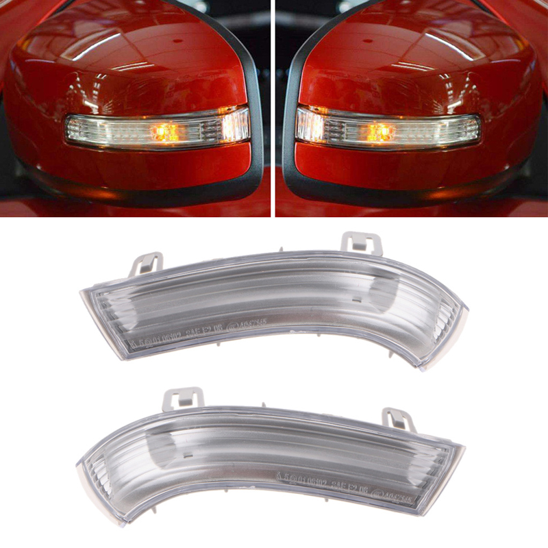 Left Rgiht Wing Mirror Indicator Turn Signal Light For VW GOLF GTI JETTA MK5 PASSAT Car Light Assembly Auto Lamp abs mirror cover chrome matt painted cap side mirror housings for volkswagen jetta golf 5 passat b6 ct
