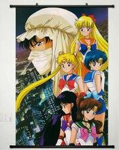 Япония аниме сейлор мун усаги цукино плакат прокрутки домашнего декора косплей 051