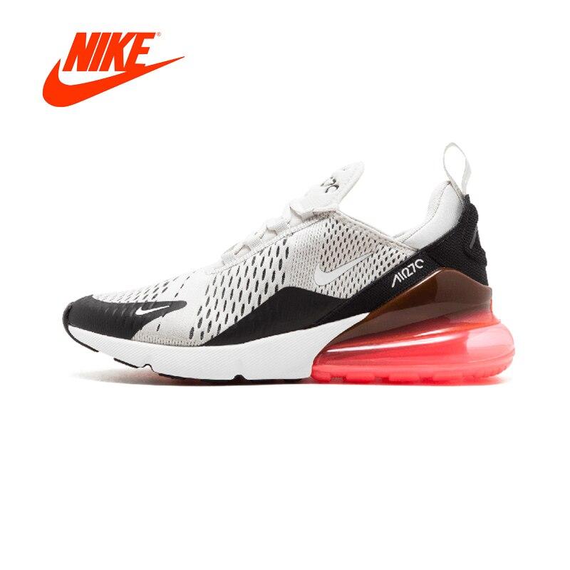 Novedad Original auténtico Nike Air Max 270 hombres zapatillas deportivas para correr al aire libre cómodo transpirable AH8050-002