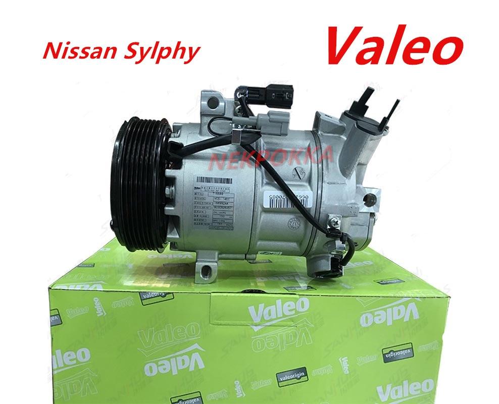 Valeo brand compressor,Air conditioning compressor for Nissan Sylphy,Original compressor