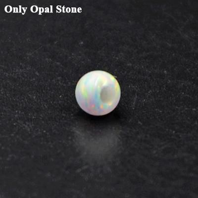 1PC G23 Titanium Opal Stone...