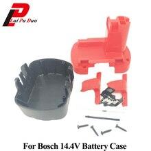 Caso plástico da bateria da ferramenta de alimentação (sem células da bateria) para bosch 14.4 v gsr 14.4 v gds 14.4 v psr 14.4ve 2