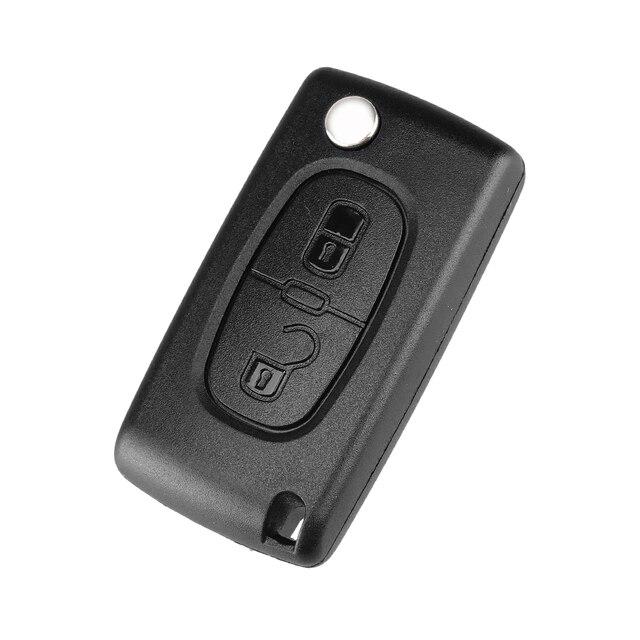 Case chiave per Peugeot 307 207 107 308 3008 407 407 607 Citroen C2 C3 C4 C5 C6 C8 433MHz ID46 Chip 2