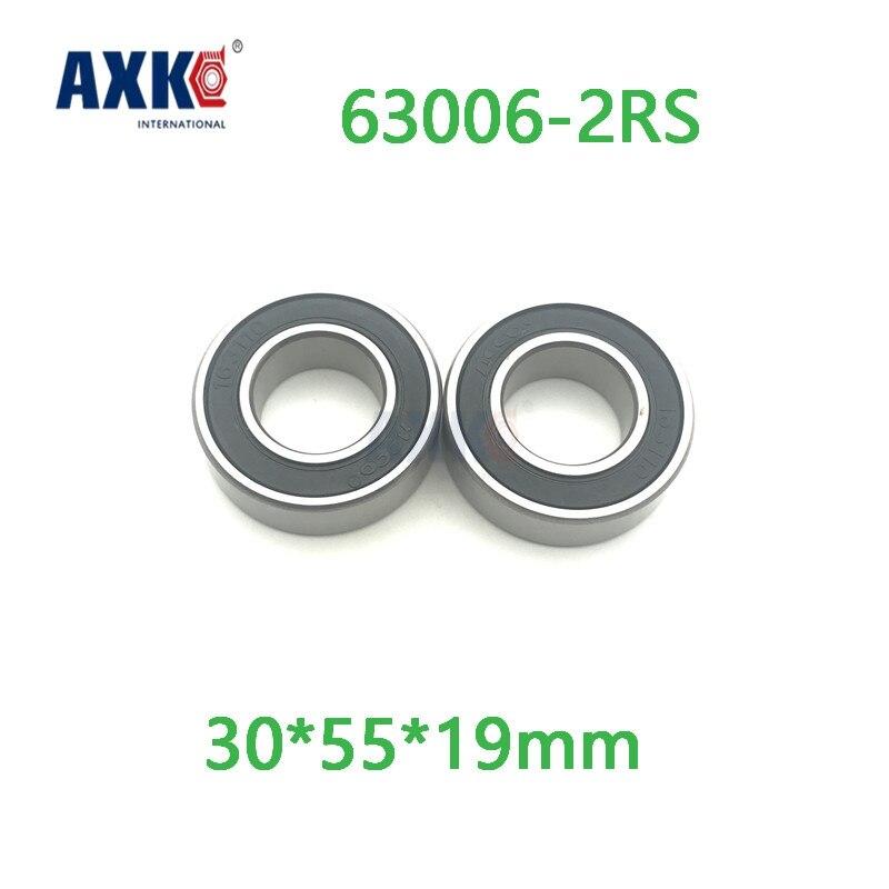 Axk 63006 2rs High Precision Thick Deep Groove Ball Bearings Abec-1,p0 30*55*19mm gcr15 6326 zz or 6326 2rs 130x280x58mm high precision deep groove ball bearings abec 1 p0