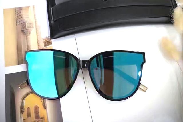 Gentle FLATBA Designer ladies sunglasses Multicolor Mirror In Scarlet sun glasses Vintage Female oculos sunglasses for women 2