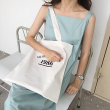2018 New Summer Women Canvas Shoulder Beach Bag Female Casual Tote Shopping Travel Big Bag Girls Large Capacity HandBags Purse