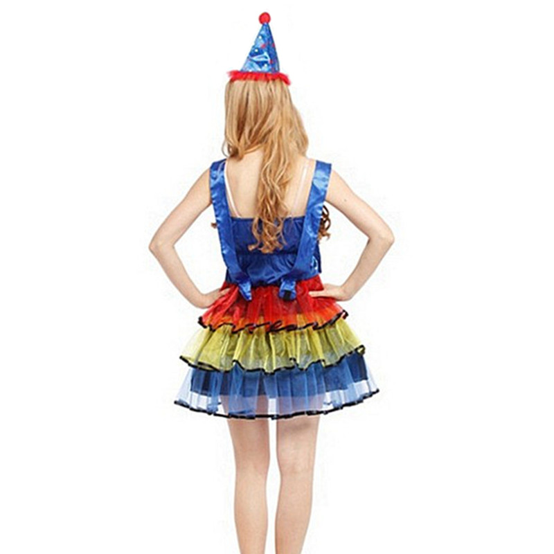 Circus Clown Kit Spotted Waistcoat Bow Tie Adults Fancy Dress
