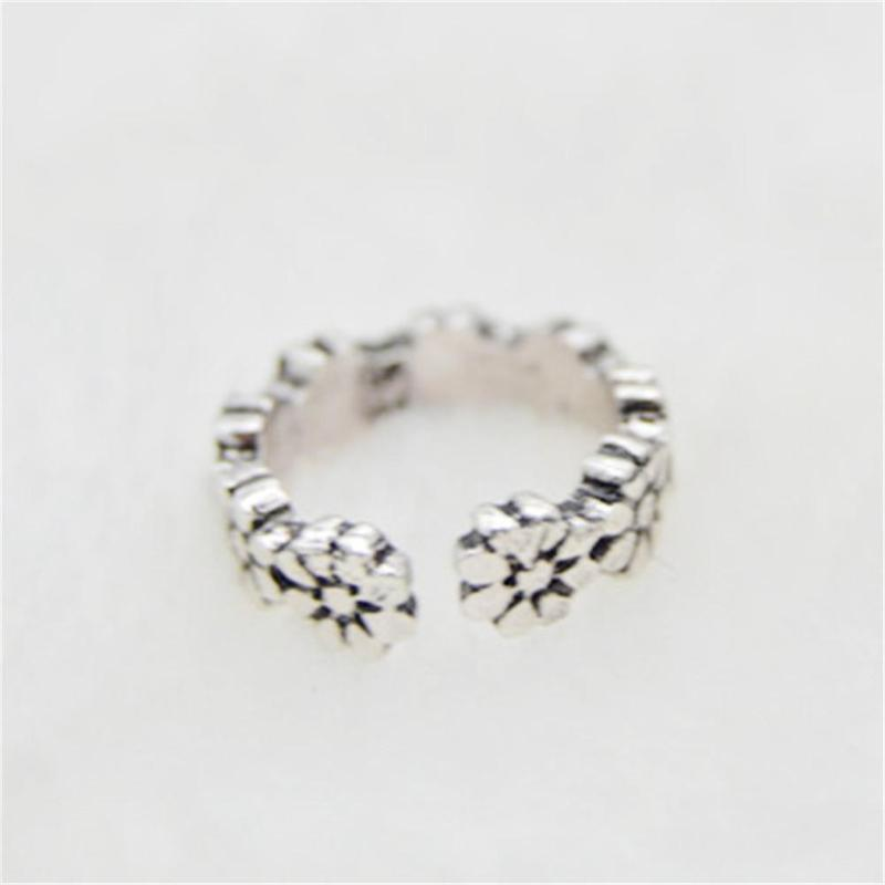 12PCs set Celebrity Jewelry Retro Silver Adjustable Open Toe Ring Finger Foot in Jewelry Sets from Jewelry Accessories