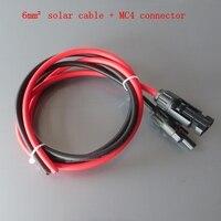 6 kare hatları güneş kablo MC4 konnektör uzatma kablosu askı bağlayıcı