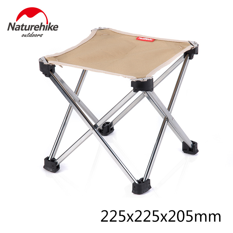 Naturehike Stool Folding Barbecue Chair Ultralight Portable folding Chairs Camping Hiking outdoor backrest Stool 4