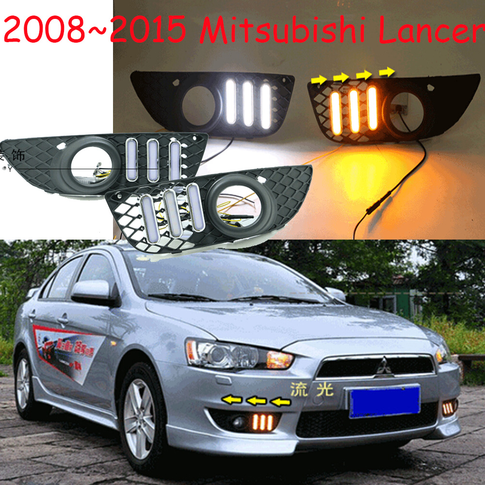 Mitsubish Lancer daytime light;2008~2016, Free ship!LED,Lancer fog light,Outlander,ASX,Lancer EX