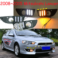 Mitsubish Lancer дневного света; 2008 ~ 2016, Бесплатная доставка! светодиодный, свет Lancer туман, Outlander, ASX, Lancer EX