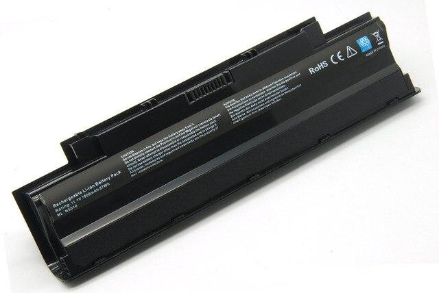 9 Ячеек 7800 мАч Батареи Ноутбука для Dell 13R (N3010) 14R (N4010) 15R (N5110) 17R (N7010) серия-12 Месяцев Гарантии