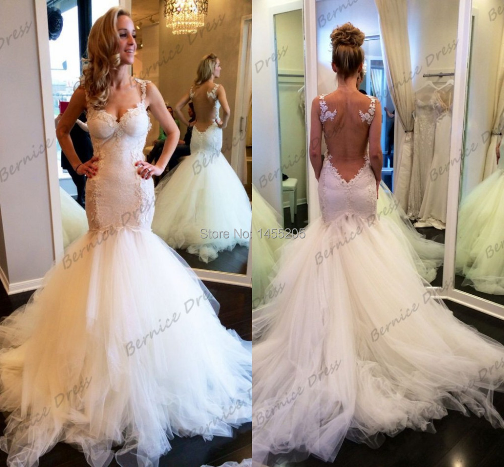 Affordable Mermaid Style Wedding Dresses : Get cheap mermaid trumpet style wedding dresses