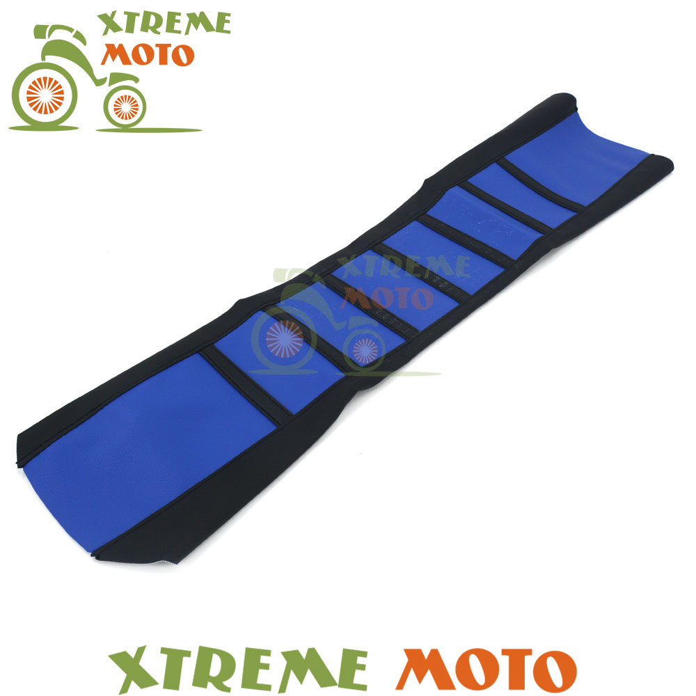Universal Rubber Vinyl Gripper Soft Seat Cover For Yamaha YZ125 YZ250 YZ250F YZ400F YZ426F YZ450F WR250F Motocross Motorcycle fxcnc universal stunt clutch easy pull cable system motorcycles motocross for yamaha yz250 125 yz80 yz450fx wr250f wr426f wr450