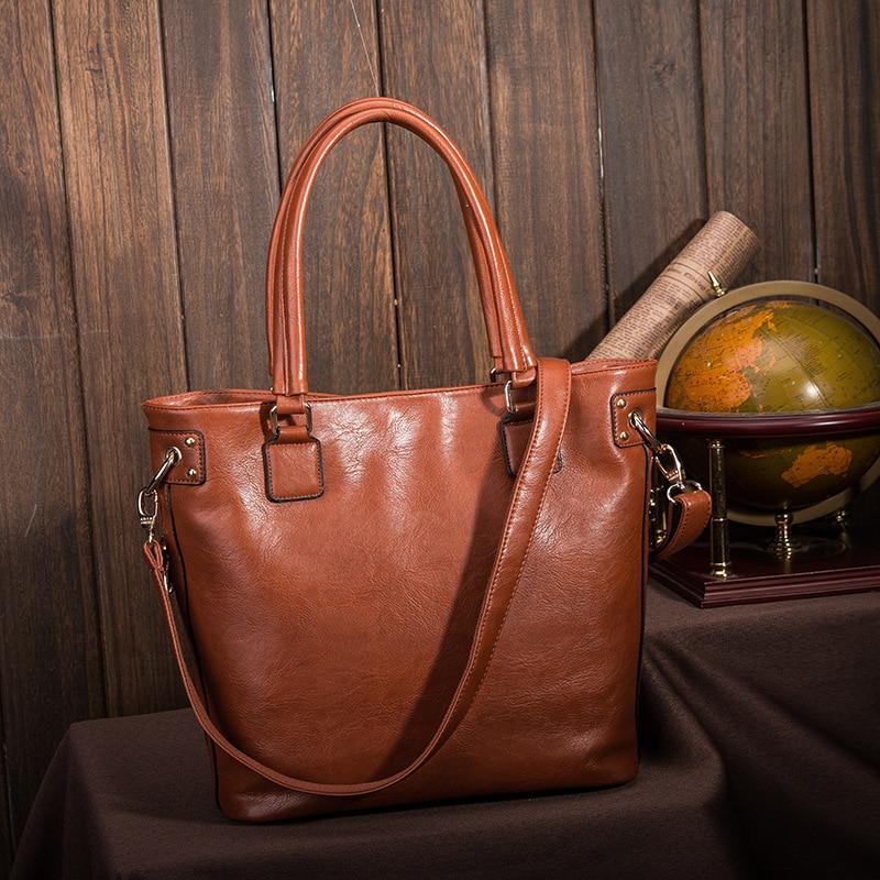 ФОТО Women's Leather Handbags Big Size Luxury Handbags Casual Women Bags Women Messenger Bags Shoulder shoping Bag Bolsas