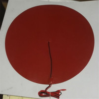 Kossel 3D Printer 500 Mm Round Silicone Rubber Round Heated Bed 12V 240W With NTC 950