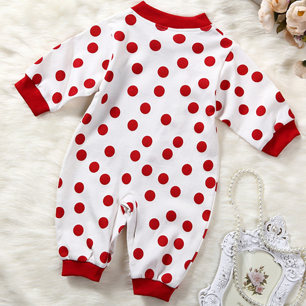 Buy 2018 New Baby Rompers Long Sleeve Spring Autumn Cartoon