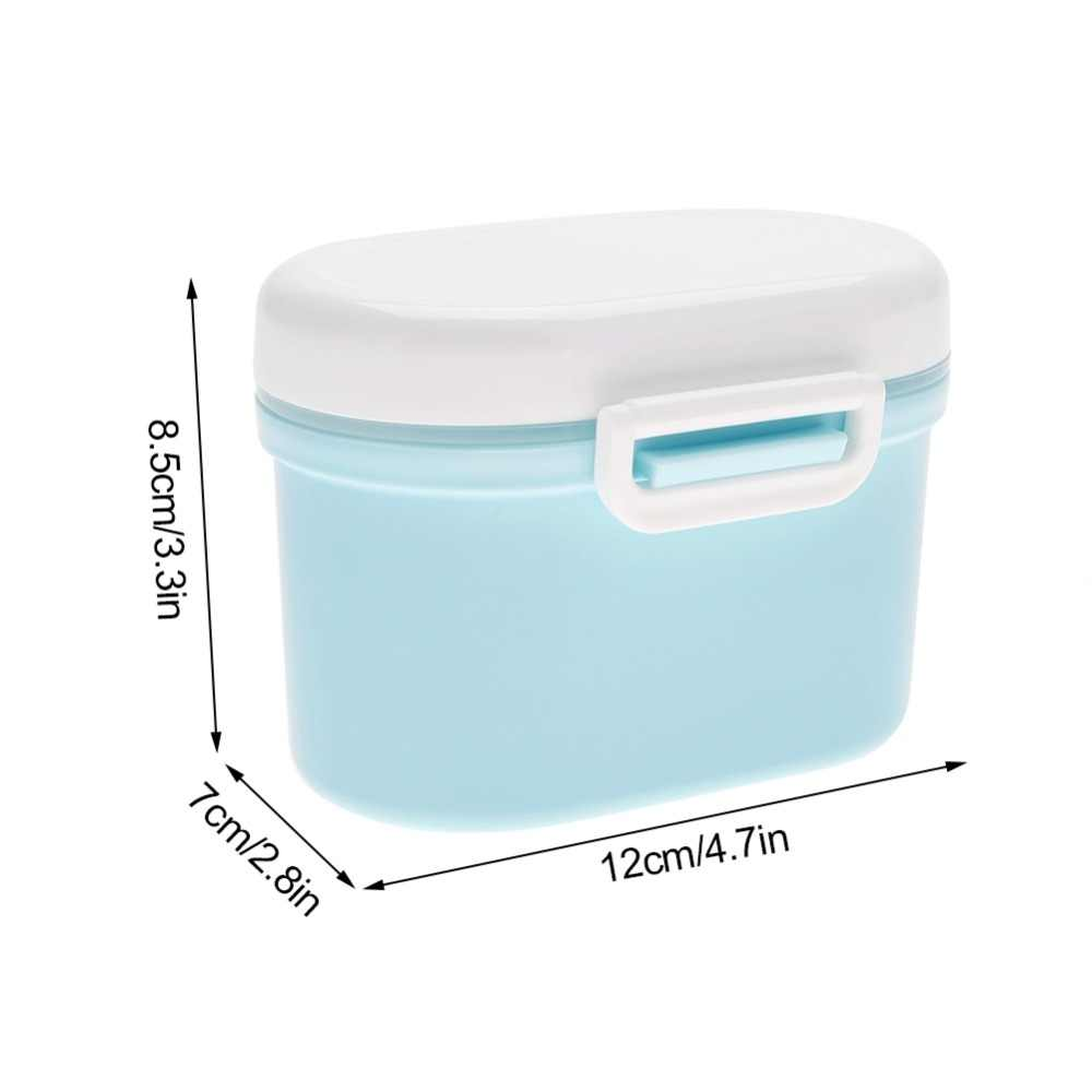 Portable Baby Milk Food Mills Milk Powder Container Box Infant Feeding Organizer Container Box Gift Case Large Small Size