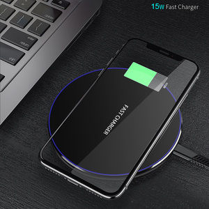 Image 5 - FDGAO 15W/10W Qi Wireless Charger For iPhone X XS Max XR 8 Plus Desktop Ultra Fast Wireless Charging Pad For Samsung S8 S9 S10
