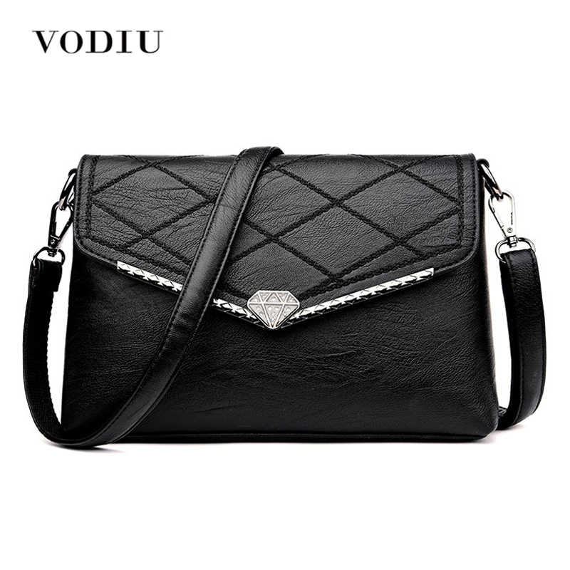 Women Bags Leather Tote Over Shoulder Sling Messenger Crossbody Flap Brand Luxury Designer 2017 Hot Sale Fashion Female Handbags famous messenger bags for women fashion crossbody bags brand designer women shoulder bags bolosa