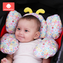 Baby Newborn Stroller Pram Pillow Infant Head Neck Protection Pad Cute Car Seat Kids Cushion Travel Sleeping Pillows
