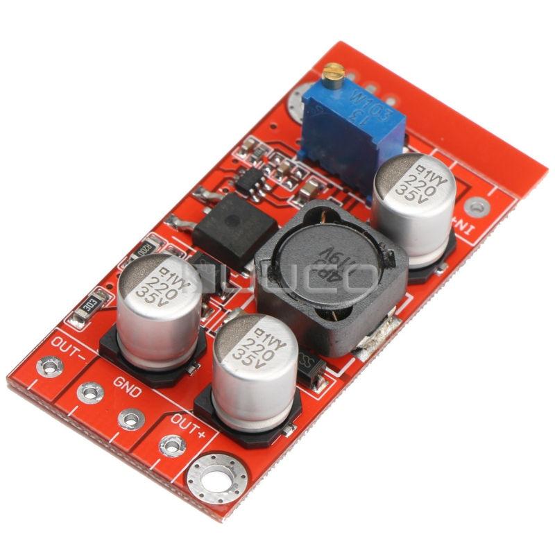 цена на 5W Adjustable Voltage Regulator/Adapter DC 3~6V to 5~32V 3A Boost Converter DC 12V 24V Dual Output Power Supply Module