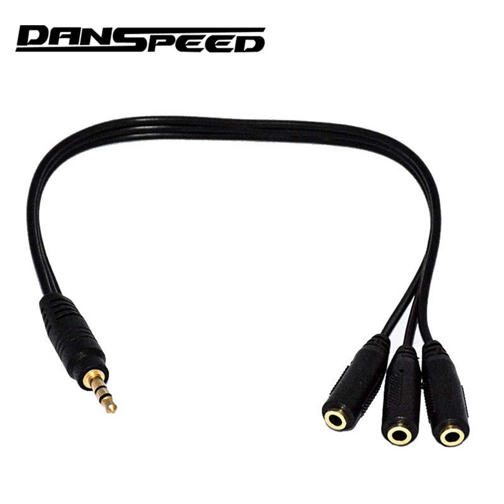 DANSPEED 0.3M 3.5mm Male Plug to 1/8