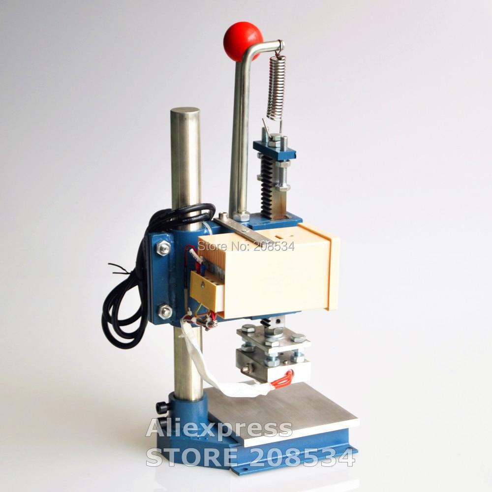 Купить с кэшбэком Shoes heat press Machine, album leather printer, Handbags bronze machine, wallet embossing machine stamping machine