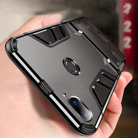 case For Xiaomi mi 8 lite Case Shockproof TPU+PC Hard Plastic with Stand Dual Hybrid Back Cover Case For xiaomi mi8 lite Pakistan