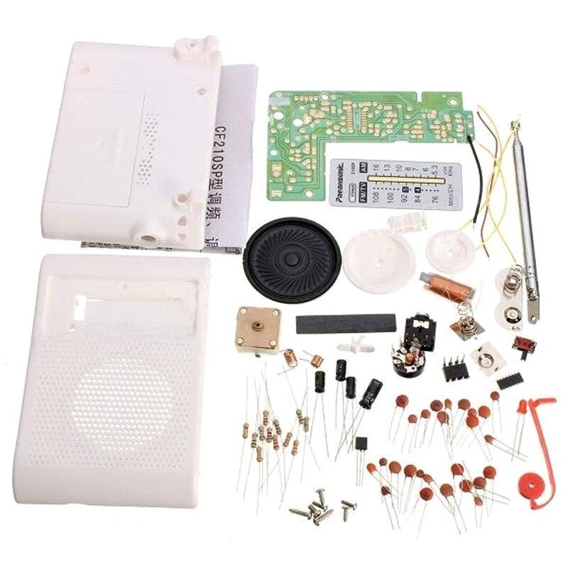 DIY CF210SP AM FM Radio Kit Electronic Assemble Kit For Electronic Learner
