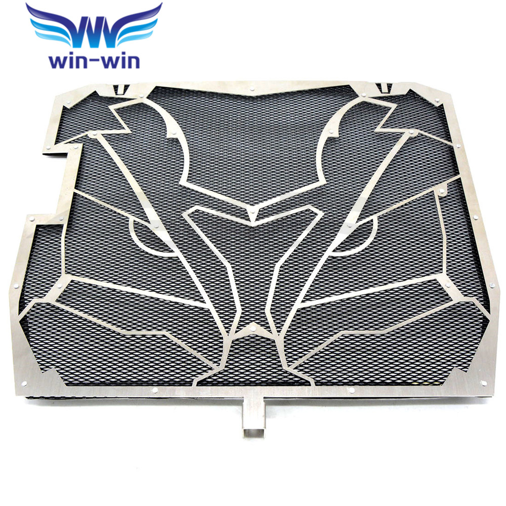 silver Motorcycle Radiator Grille Guard Cover Protector  For KAWASAKI NINJA ZX-10R ZX 10 R ZX 10R ZX10R   2011 2012 2013 2014 motorcycle parts radiator grille protective cover grill guard protector for 2007 2008 2009 2010 2011 2012 kawasaki z750