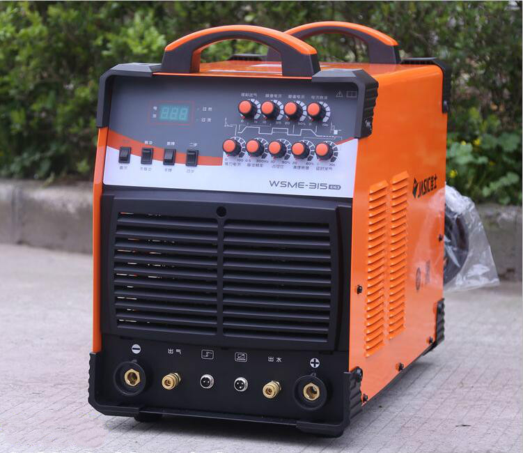 JASIC AC380V WSME-315 TIG-315 Pulse AC DC tig welding machine with accessories сварочный инвертор tig aurora ironman 315 ac dc pulse аттестат накс