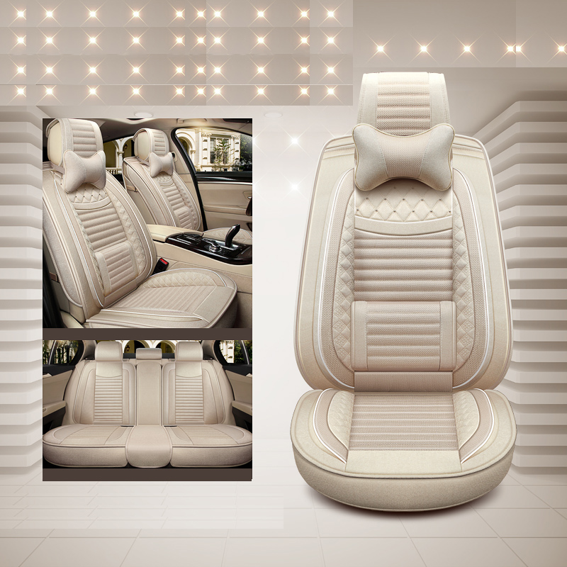 Luxury Special Flax ( Front & Back) Car Seat Covers For Infiniti Q50 FX EX JX G M QX50 QX56 QX80 QX 70L QX70 60 50 Accessories