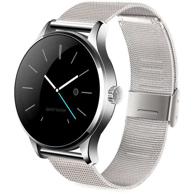 innovative design c3068 ad8b4 US $44.22 25% OFF|K88H Smart Watch Waterproof Smartwatch HD Display Screen  Heart Rate Monitor Sport Fitness Tracker for Huawei Xiaomi Mi Band 2-in ...