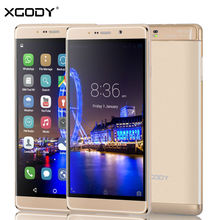 "XGODY 6"" Smartphone Quad Core 1GB RAM+16GB ROM  Dual SIM Cards 2/Pack 13MP Telefone Celular 3G Unlocked Cell Phones"