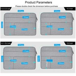 Image 5 - 13 15,6 zoll Laptop Tasche Sleeve Fall für Macbook Air Pro/Dell Inspiron/Toshiba/Acer Aspire e15/ASUS VivoBook/MSI/HP Notebook Tasche