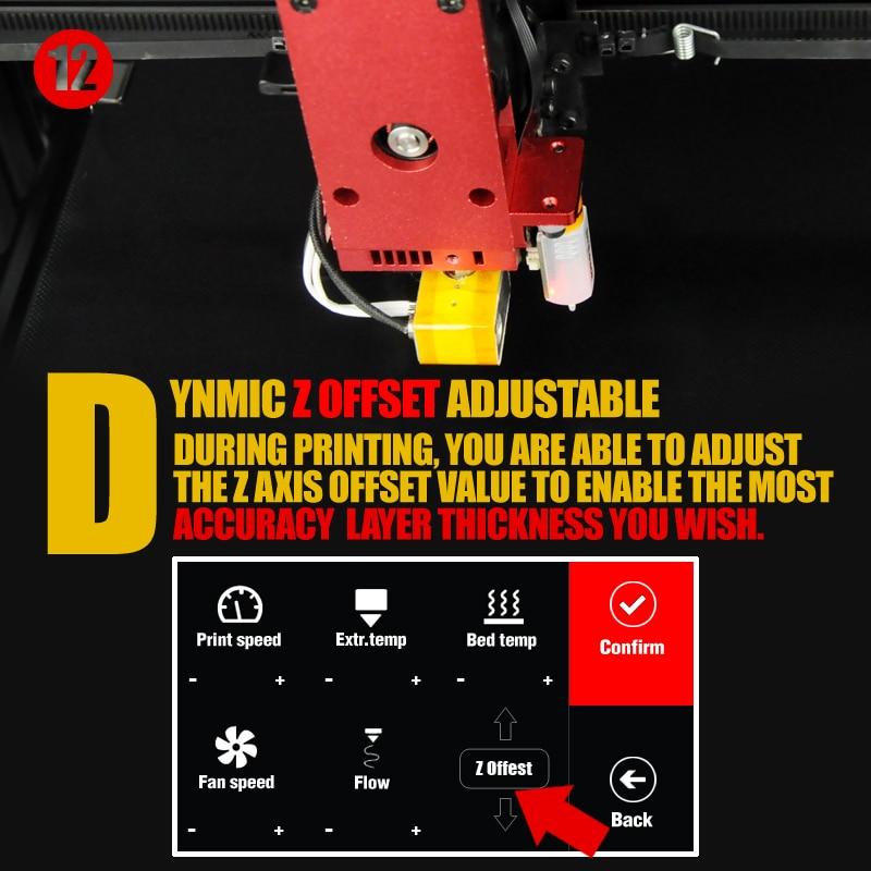HTB10klCaEzrK1RjSspmq6AOdFXao - New Wanhao FDM Desktop 3D Printer Machine Duplicator 9 D9/300 MK2 With Auto Leveling Big Print size 300*300*400mm Free Shipping