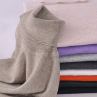 Women Sweater 2016 New Fashion Solid 13 Colors Knitted Sweater Cashmere Winter Pullover Turtleneck Long Sleeve
