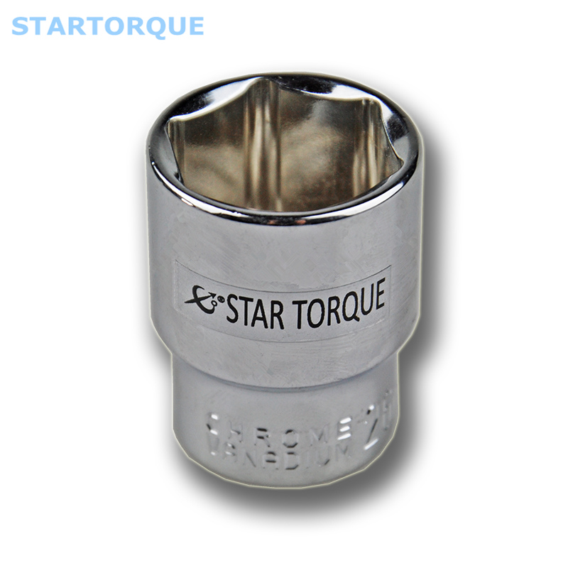 STARTORQUE Free Shipping 1Pcs 1/2-inch Drive 8mm-32 Cr-V 6-Point Deep Socket For Automotive Repairs