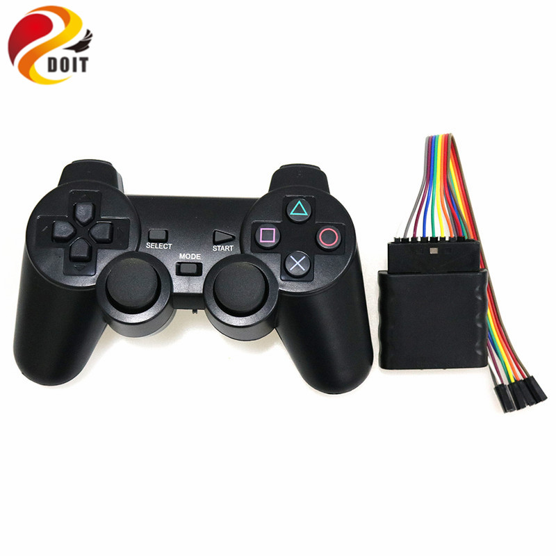 Wireless Game Gamepad Joystick For PS2 Controller Servo Playstation Console Dualshock Gaming Joypad For PS 2 Robot handle RC Toy best selling usb wired game controller for xbox360 gamepad joypad joystick for xbox 360 controller slim accessory pc computer