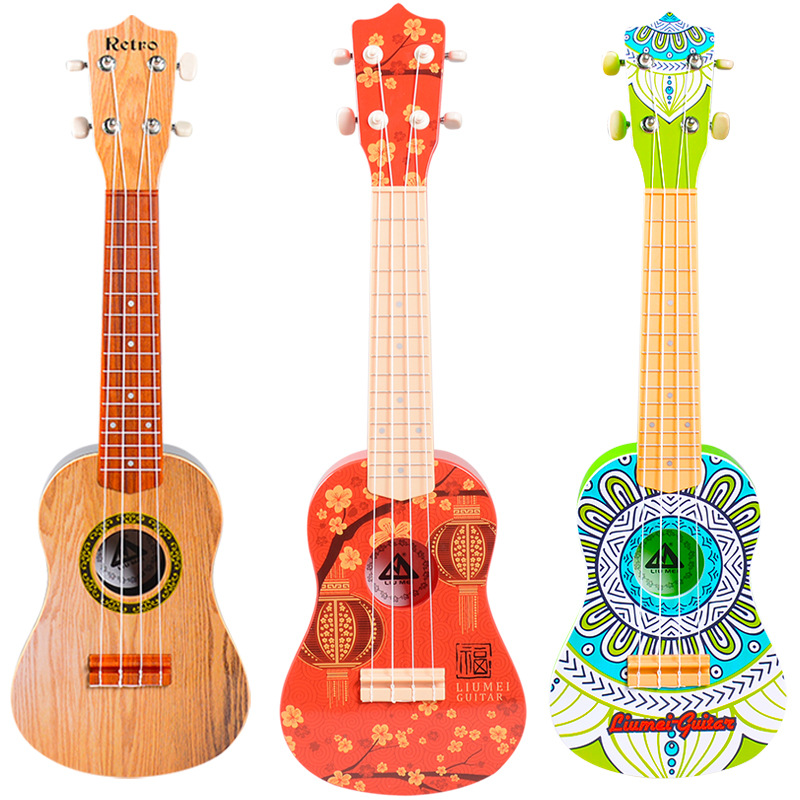 Enfants débutant guitare classique jouets 21 pouces rétro Instruments de musique jouet éducatif garçons filles cadeaux