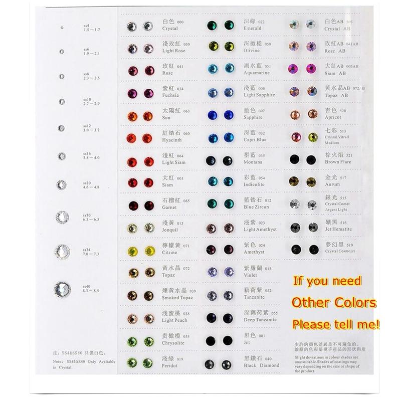 Най-висококачествени 1440бр. Кристално - Изкуства, занаяти и шиене - Снимка 6