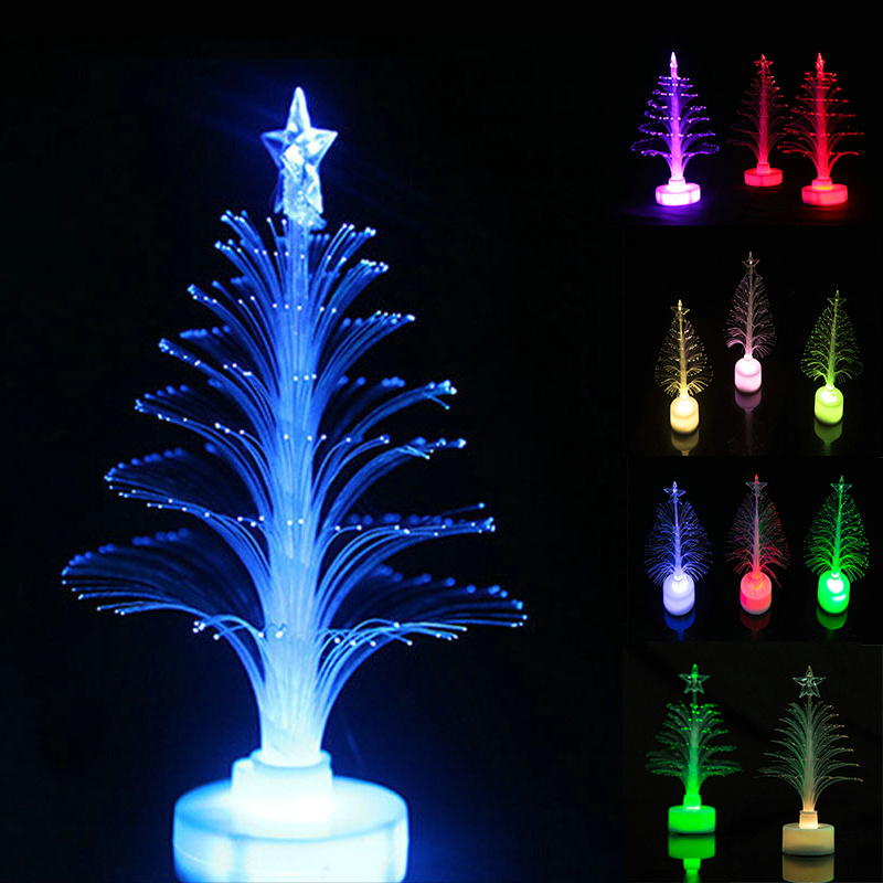 santa christmas lighting tree night light colors change mini cheap led decoration lamp star battery plastic atmosphere lamp in led night lights from lights