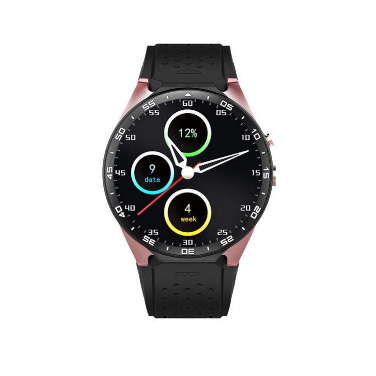 Symrun kw88 android 5.1 mb + 4 gb bluetooth smart watch 512 4.0 wifi 3g teléfono