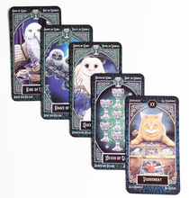 New Tarot Deck Familiars Legends Family Party board game 78 cards/set