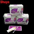 3 pack menstrual pad anion sanitary pads feminine hygiene Product cotton sanitary napkin Health shuya anion-winalite love moon