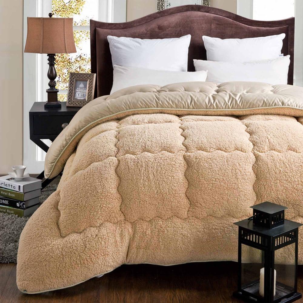 Aliexpress.com : Buy 100% cashmere winter warm thick quilt ...
